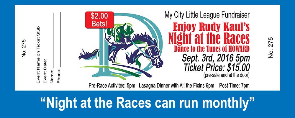 Tickets - Races1